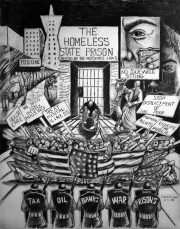 Homeless State Prison, drawing