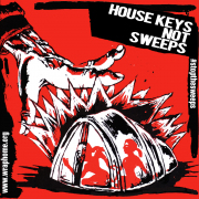 House Keys Not Sweeps Stiker