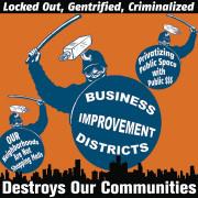 BIDs Destroy Communities Stiker