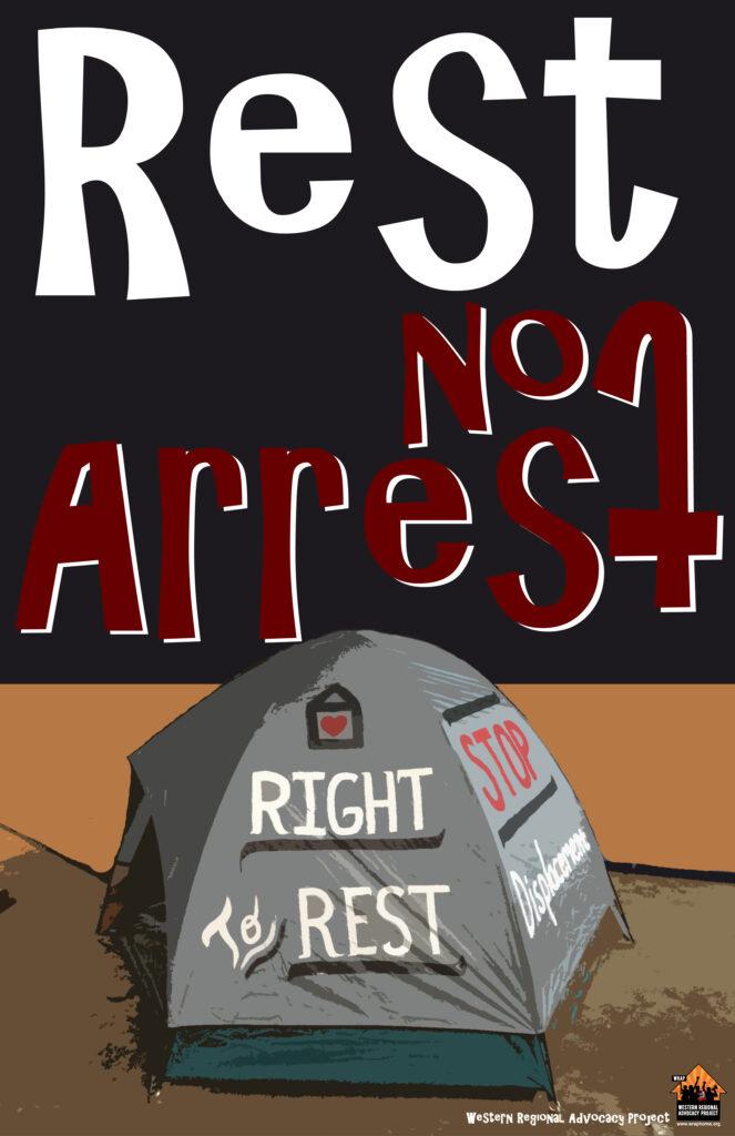 11 by 17 rest not arrest color